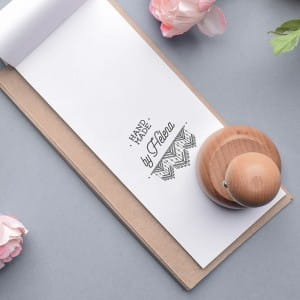 Stempel personalizowany HAND MADE - zestaw