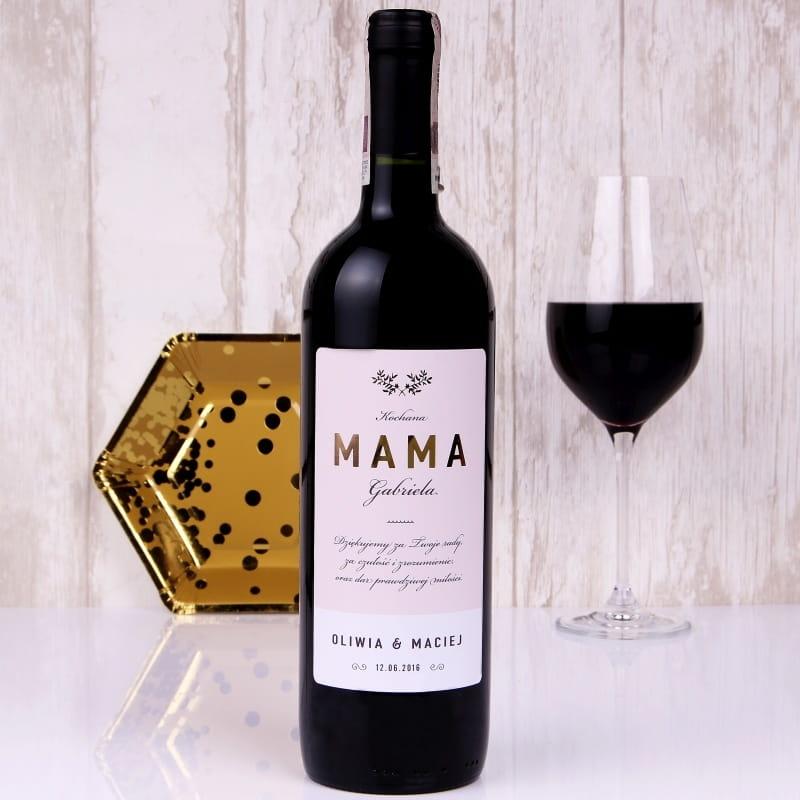 Czerwone Wino Bezalkoholowe W Skrzynce Mama