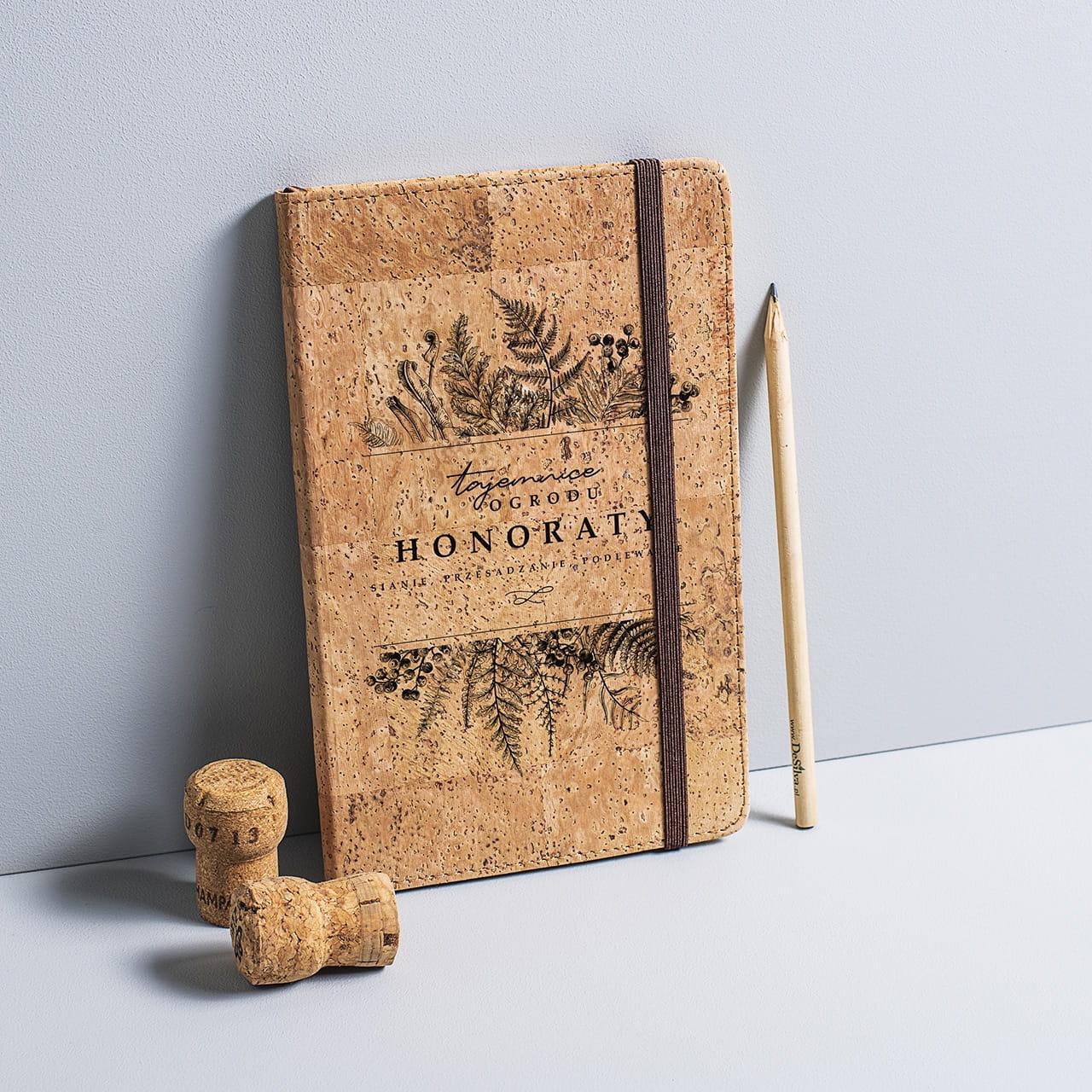 Notatniki Z Nadrukiem Skorzane I Drewniane Crazyshop