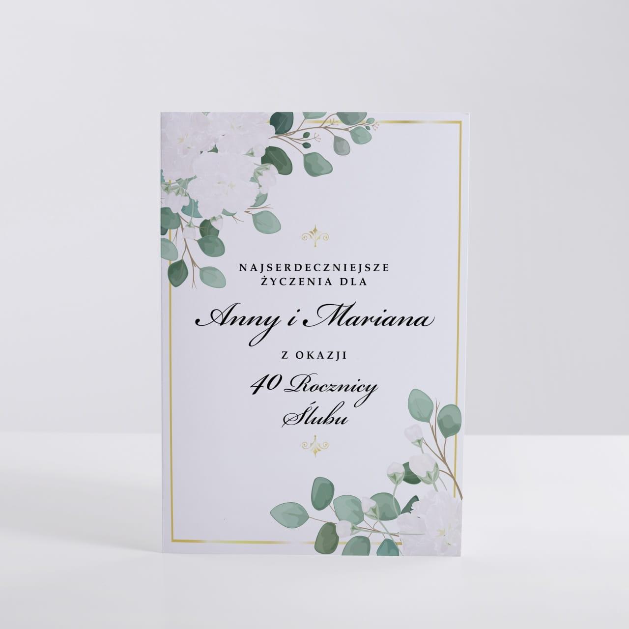 Kartka Rocznica ślubu