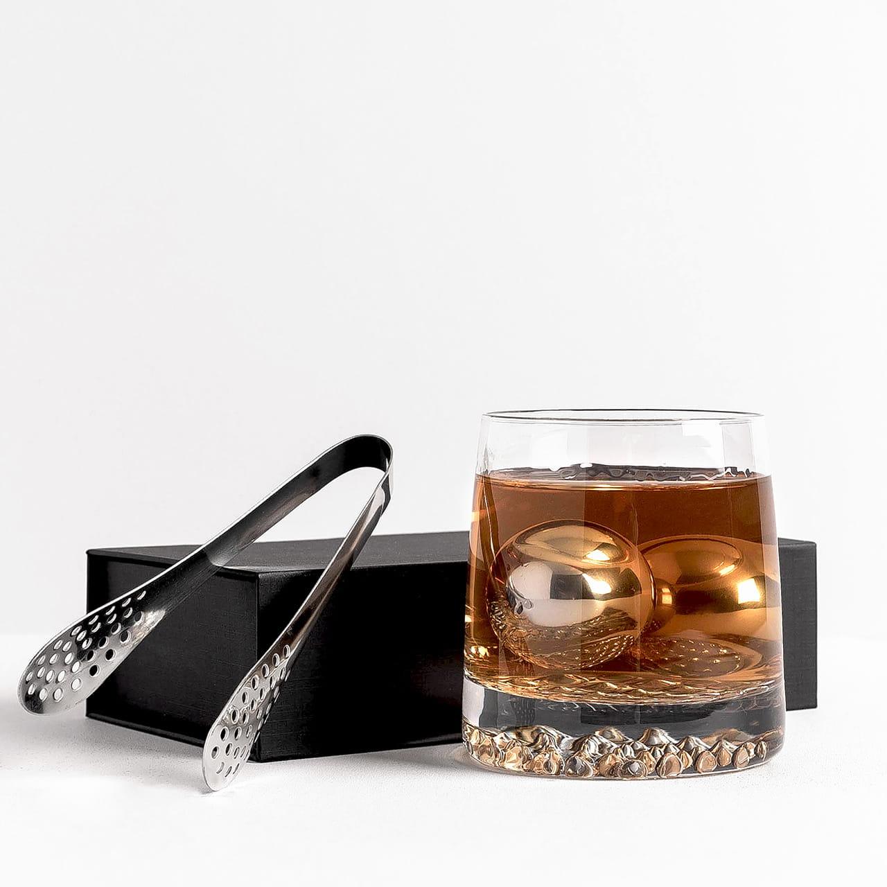 Stalowe Kule Do Whisky Elegancki Prezent Dla Mezczyzny
