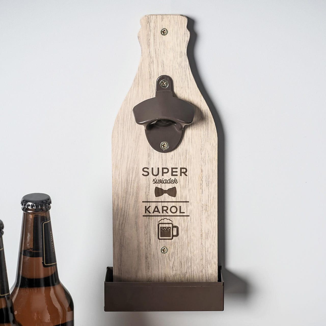 Otwieracz Do Piwa Prezent Dla Swiadka