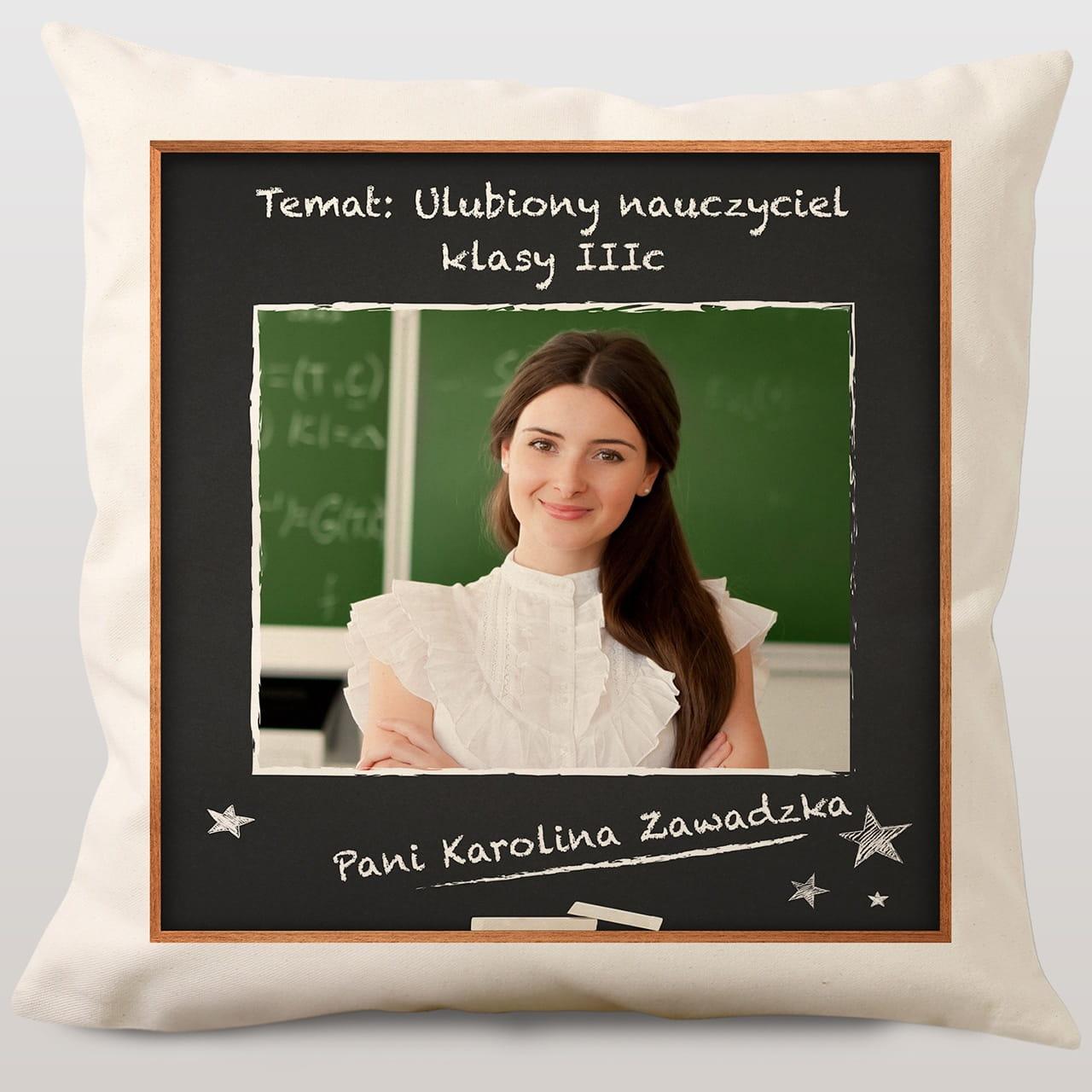 Poduszka Dla Nauczycielki Ulubiona Nauczycielka