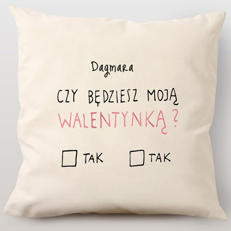 Poduszka Z Nadrukiem Walentynka