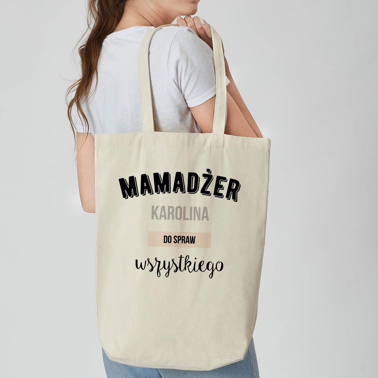 Torba na zakupy dla mamy MAMADŻER