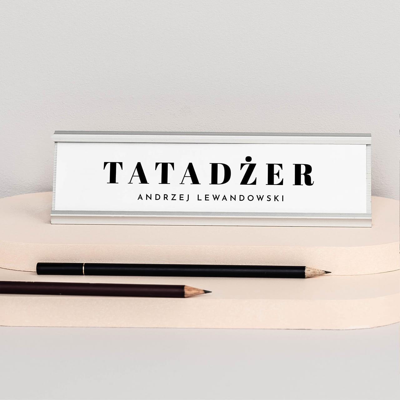 Wizytownik Na Biurko Tatadzer Prezent Dla Taty